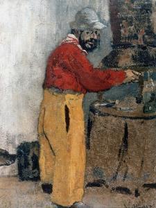 Henri de Toulouse-Lautrec à Villeneuve-sur-Yonne (1898) by Edouard Vuillard
