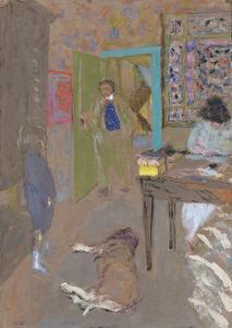 Interior at Saint-Jacut, 1909 by Edouard Vuillard