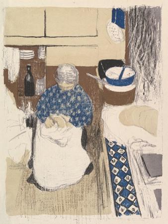 La Cuisinière, from the series Paysages et Intérieurs, 1899