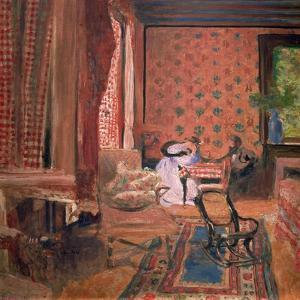 La Partie des Dames (The Board Game), c. 1905-10 by Edouard Vuillard