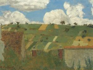 Landscape of the Ile-De-France, 1894 by Edouard Vuillard