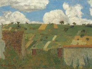 Landscape of the Ile-de-France, c.1894 by Edouard Vuillard