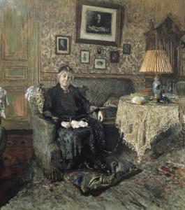 Madame Adrien Bénard by Edouard Vuillard
