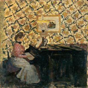 Misia at the Piano, 1895-96 by Edouard Vuillard