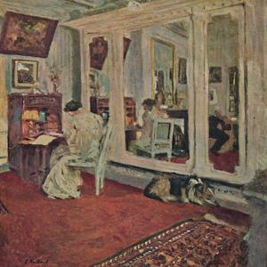 'Mme Hessel, rue Rivoli (About 1902)', c1902, (1946) by Edouard Vuillard