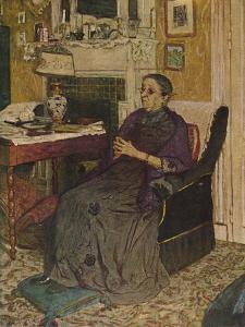 'Mme Kapferer (1919)', 1919, (1946) by Edouard Vuillard