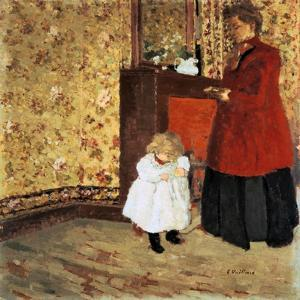 Mother and Child, 1900 by Edouard Vuillard