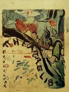 Projet du Programme Pour le 'Théâtre Libre' (Design for Programme of 'Théâtre Libre'), c.1890-91 by Edouard Vuillard