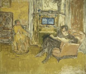 Study for a Portrait of Mr. and Mrs. Marcel Kapferer by Edouard Vuillard