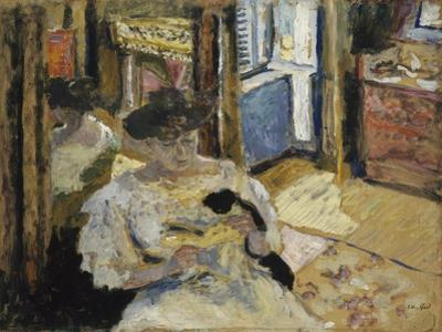The Dressing-Room, Madame Hessel Reading at Amfréville, 1906