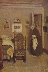 'The Housekeeper (About 1925)', c1925, (1946) by Edouard Vuillard