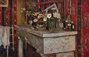 'The Mantelpiece', 1905 by Edouard Vuillard