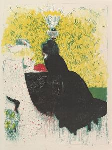 The Two Stepsisters, from the series Landscapes and Interiors, 1899 by Edouard Vuillard