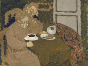 Two Women Drinking Coffee, c.1893 by Edouard Vuillard