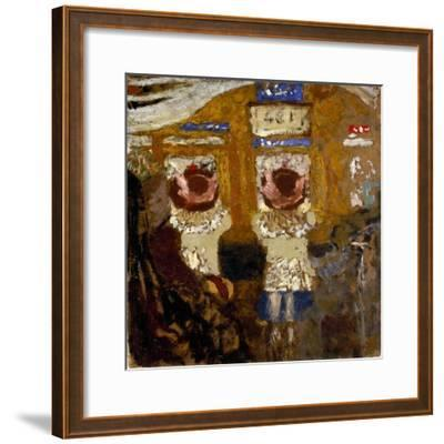 Vuillard: In The Bus, C1895