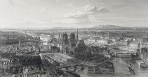 Paris en 1860 by Edouard Willmann