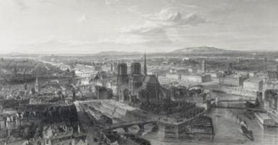 Paris en 1860