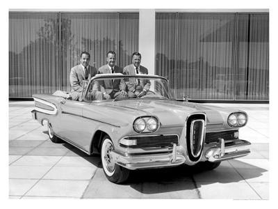 Edsel Convertible, 1958--Giclee Print