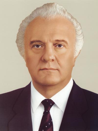 Eduard Ambrosis Shevardnadze--Photographic Print