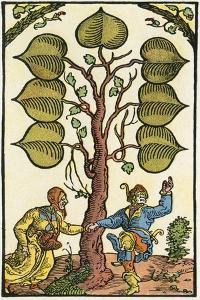16th Century German Playing Card, Illustrierte Sittengeschichte Vom Mittelalter Bis Zur Gegenwart by Eduard Fuchs