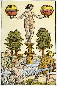 17th Century German Playing Card, Illustrierte Sittengeschichte Vom Mittelalter Bis Zur Gegenwart by Eduard Gaertner