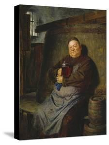 Brother Master Brewer in the Beer Cellar, 1902 by Eduard Grutzner