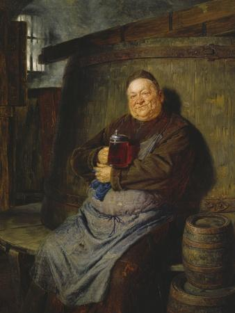 Brother Master Brewer in the Beer Cellar, 1902
