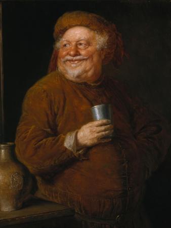 Falstaff with a Tin Cup