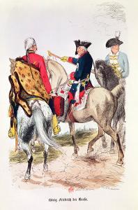 "Frederick II (1712-86) the Great, Illustration from ""Frederic De Prusse"" by E. Lange by Eduard Kretzschmar"