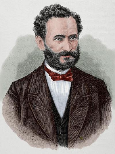 Eduard Lasker (1829-1884). German Politician and Jurist--Giclee Print