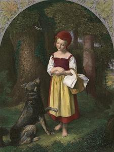 Red Riding Hood: 'Rothkaeppchen' by Eduard Steinbruck