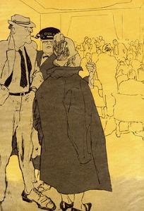 Illegal Night Club 1934 by Eduard Thony