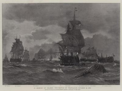 In Memory of Nelson, the Battle of Trafalgar, 21 October 1803