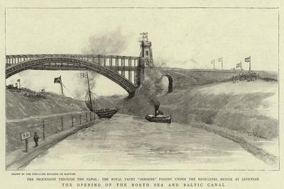 The Opening of the North Sea and Baltic Canal