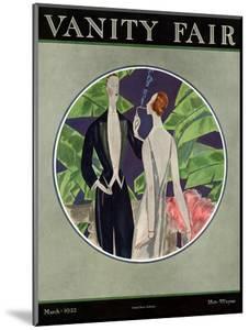 Vanity Fair Cover - March 1922 by Eduardo Garcia Benito