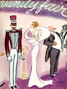 Vanity Fair Cover - November 1935 by Eduardo Garcia Benito