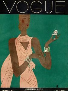 Vogue Cover - December 1931 by Eduardo Garcia Benito