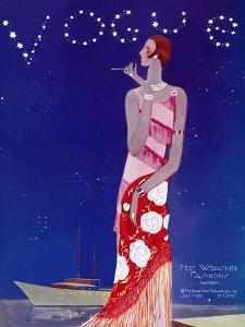 Vogue Cover - July 1926 - Flapper Nights by Eduardo Garcia Benito