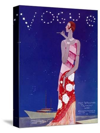 Vogue Cover - July 1926 - Flapper Nights