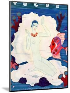 Vogue Cover - July 1933 by Eduardo Garcia Benito