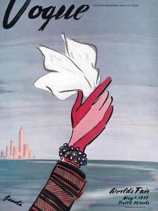 Vogue Cover - May 1939 by Eduardo Garcia Benito