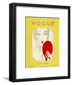 Vogue Cover - November 1925 by Eduardo Garcia Benito
