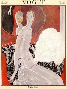 Vogue Cover - October 1922 by Eduardo Garcia Benito
