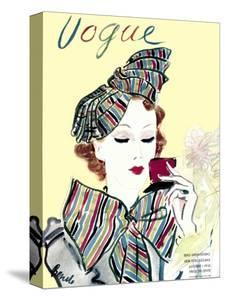 Vogue Cover - October 1935 by Eduardo Garcia Benito