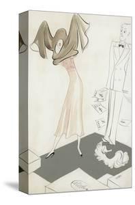 Vogue - January 1934 by Eduardo Garcia Benito