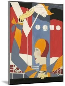 Vogue - October 1927 by Eduardo Garcia Benito
