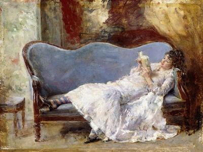 A Lady Reading
