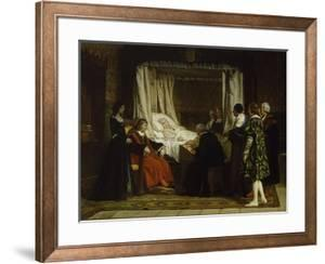 Queen Isabel La Católica Dictating Her Last Will and Testament, 1864 by Eduardo Rosales