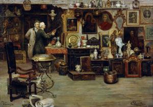 The Curiosity Shop, 19th Century by Eduardo Vianella