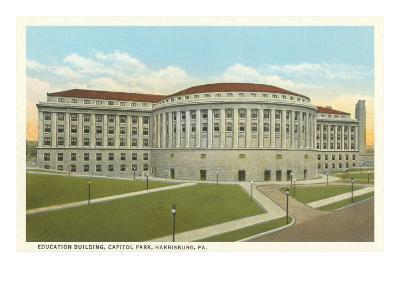 Education Building, Harrisburg, Pennsylvania--Art Print